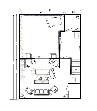 Recording studio floor plan building a recording studio for Studio layout plan